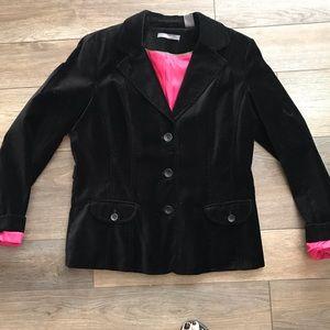 Liz Claiborne velvet blazer